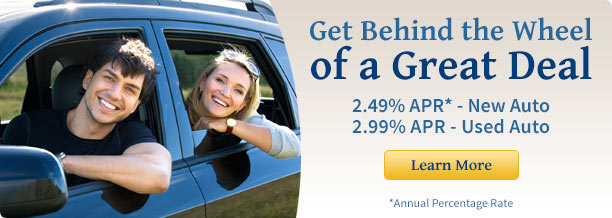 Banner Ad - new car loan promotion